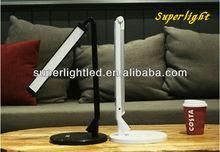Black adjustable daylight LED table desk reading lamp lighting