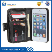case for iphone 5, for iphone 5 wallet case with standing and cards holder , for iphone 5 case