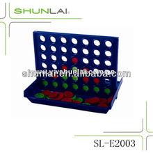 Plastic Bingo Of 4 In A Row Game,Kids Travel Board Games SL-E2003