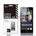 Mobile telefon zubehör für huawei aufsteigen p6 oem/odm( anti- fingerabdruck)