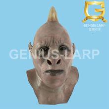Latex horror mask of unicorn monster