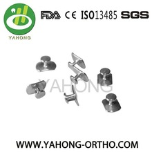orthodontic Weldable lingual buttons orthodontic lingual buttons