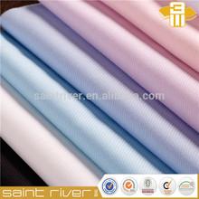 Twill Yarn Dyed Poly Cotton Shirting Fabric