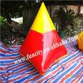 Gigante inflável paintball, equipamento de paintball inflável
