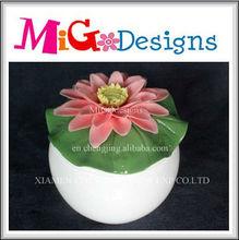 Wholesale Direct Factory Manufacture OEM Art Decorative Colorful Ceramic Candle Holder