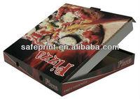Ecofriendly box pizza