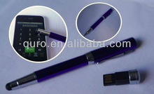 2013 NEWEST PRODUCT high quality stylish stylus usb pen, touch pendrive
