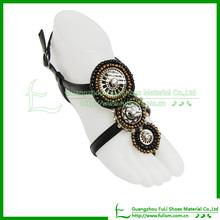 Fashion Shoe Vamp 184 Of PU Sandal Upper