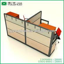 Aluminum glass office desk partition office partition system
