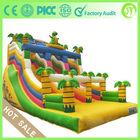 JT-14705B hot sale Jurassic park theme inflatable bouncy castle inflatable slide