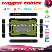 "7"" best rugged Android 4.1 tablet PC back and front camera rugged tablet PC M76 IP65 Bluetooth Wifi GPS 3G HDD 1G 4G-md"