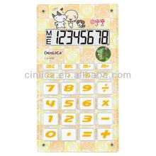 cartoon calculator. Promotional gift handheld Acrylic calculator CA-608