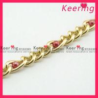 gold neck metal chain design WRC-099