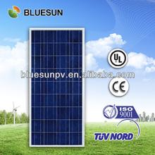 Top quality best price 12V Bluesun 160w polycrystalline solar panels