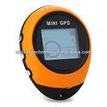 mini portátil handheld gps navigator navegação location finder para o desporto ao ar livre de viagem amarelo