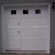 Color Steel Garage Door With Pedestrian Door