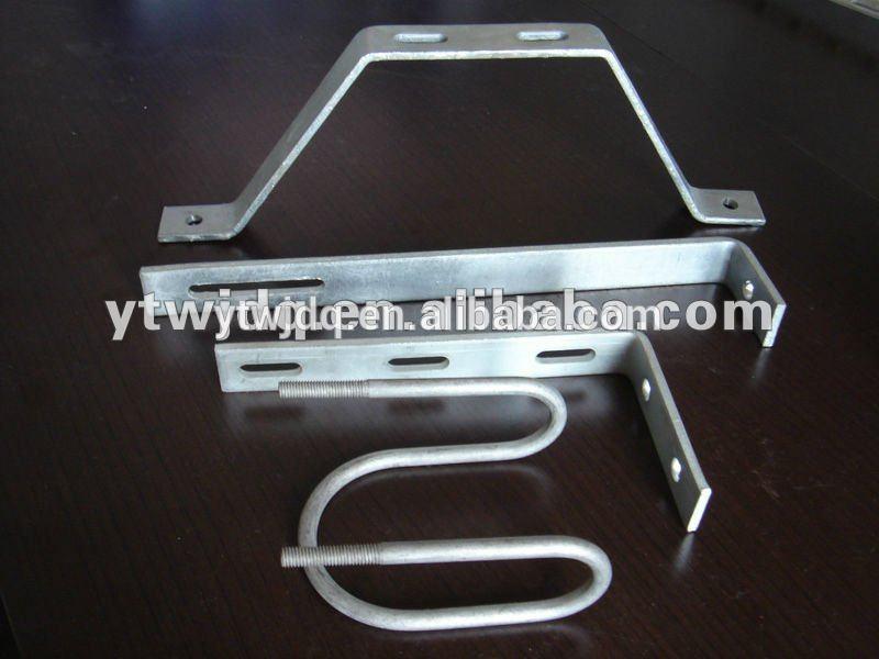 metal stainless steel support brackets ,u shaped metal brackets , metal corner brace brackets