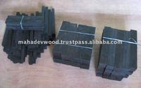 Black Ebony Raw Wood, Black Gaboon Ebony Wood, Ebony Cue Handle