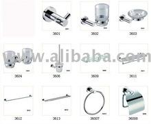 36-Series whole set sales Zine alloy bathroom accessory