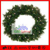 LED christmas wreath lights