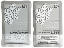 Reusuable Nano Silver Ice Pack, Gel cold pack.