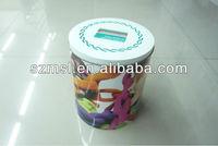 Dog food packaging box,round tin box
