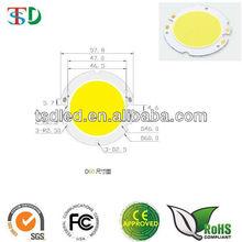 46mm luminous surface cob led chip /Cob led moudle /cob led diode 15W 20W 25W
