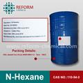 De la categoría alimenticia N - hexane 97% CAS NO.110-54-3