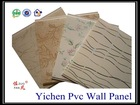 interior building material hot stamping pvc ceiling panel/wall panel/paneling for ceiling and wall