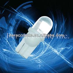 Auto led bulb 10mm Round Dome Flat led T10 W5W