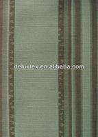 Black and white drapery fabric