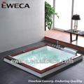 bañera de hidromasaje masaje bañeras de agua caliente de forma rectangular