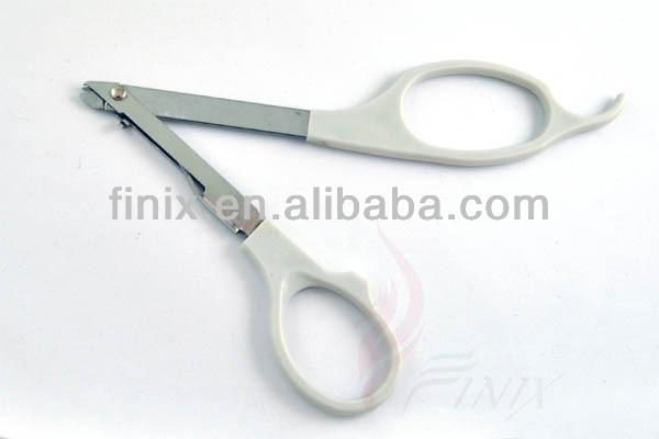 Mango de plástico desechable elemento básico de la piel removedor
