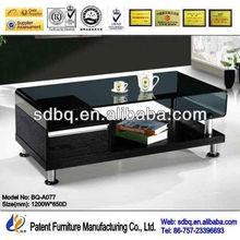 modern style coffee table black BQ-A077