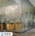 alta qualidade decorativa de vidro da parede de água fabricantes