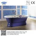 Sw-1003b pequeño spa baño de tina, bañera de hierro fundido