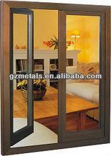 modern home design windows ,high quality elegant aluminum windows