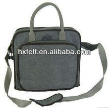 Fashion eco promotional felt laptop bag