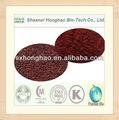 0,1%- 5% monacolina lovastatina lievito di riso rosso estratto