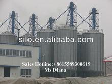 Used galvanized steel grain silo for sale