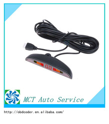 Top-Rated Car LED Reverse Parking Sensor Radar System with Backlight Display+4 Sensors 6 Colors