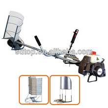 2-stroke mini power rice and wheat cutting machine