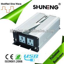 DC AC 1200W 12V/24V 48V to 100V/120V/220V modified sine wave inverter