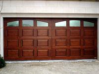 single panel garage doors