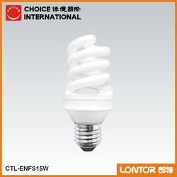 LONTOR Multi-Power Daylight Spiral 15W energy saving light