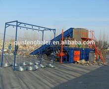 FDY-1500 hydraulic Baler short garbage disposal for sale