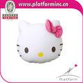 Olá kitty brinquedo forma/recheadas brinquedo de estimação/olá kitty de pelúcia brinquedo