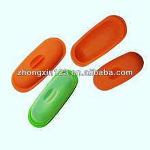 Kitchen silicone fish steamer with lid