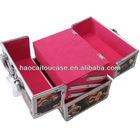 hot sell custom durable aluminium cosmetic box