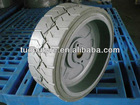 solid rubber tire 12.5x4.25 for JLG aerial work platform, no marking solid tires